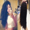 Curly Human Hair Extension For Black Women