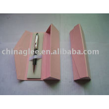 caixa de papel caneta