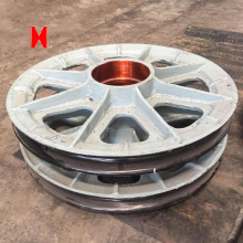 Alloy Steel Pulley Sheave med bra pris