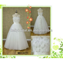 2013 the most popular tulle wedding dresses/gown floor lenght