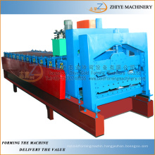 double layer zinc roof sheeting roll forming machine/Double Decker Glazed Roof Sheet Tile Making Machine