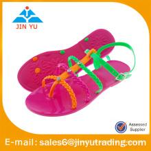 2016 pvc sandals Süßigkeiten Farben