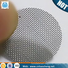 1 inch 1.25 inch Brass titanium stainless tobacco glass pipes screen filters (free sample)