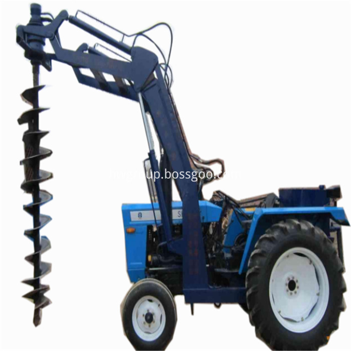 Tractor pile driver5