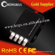 Gute qualität 4ch bnc video RS485 daten audio video konverter