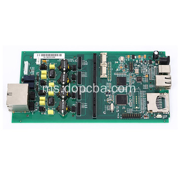 ENIG Multilayer HDI Flex Flex PCB Elektronik Perhimpunan