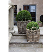 RAPL-020 Le plus récent design de la plus récente poli Poly Rattan Outdoor Garden Decor Planter - Poterie