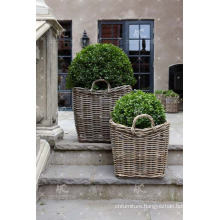 RAPL-020 Top selling Newest Design Poly PE Rattan Outdoor Garden Decor Planter - Pottery