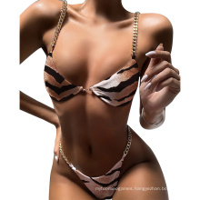 Wholesale Low Waist Women Sexy 2 Piece Swimsuit Thong Swimwear