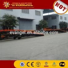 Rampa de carga de acero manual de 10 toneladas Rampa móvil de la yarda