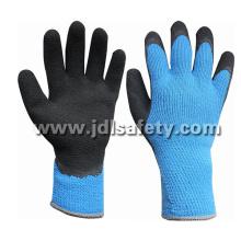 El CE aprobó el guante de trabajo Hola-Viz acrílico con espuma látex de capa (LY2035B)