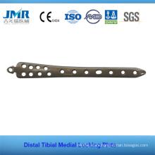 Distal Tibial Medial Locking Plate Orthopedic Implant