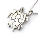 Tortoise pendant animal pendant for girls