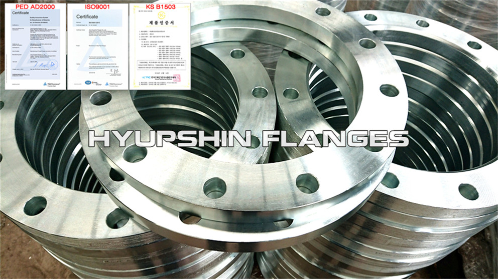 Hyupshin Flanges Plate Flange Type01 Din 2573 2576