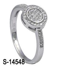 El anillo más nuevo de plata de Weding de la joyería 925 de la manera del estilo (S-14548. JPG)
