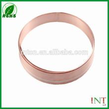 Fuse use precious metal silver clad copper metal strips