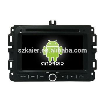 Núcleo Octa! Android 8.0 carro dvd para Jeep Renegade com 7 polegadas tela capacitiva / GPS / Link Mirror / DVR / TPMS / OBD2 / WIFI / 4G
