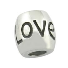 Aniversário Engraved Beads Casal Love Bead