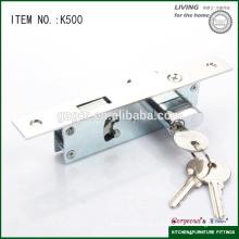 Cerradura deslizante de alta calidad para la puerta k500