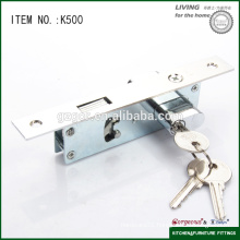 High quality sliding mortise lock for door k500