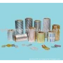 Hoja farmacéutica de aluminio