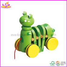 Jouet de traction de bébé de conception animale (W05B038)