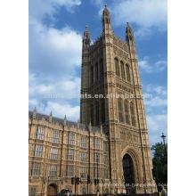 Links da pintura da lona de Londres