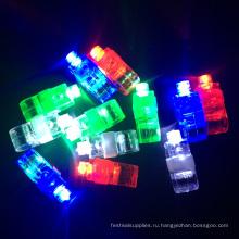 детский праздник Рождественские украшения освещения светодиодные палец кольцо
