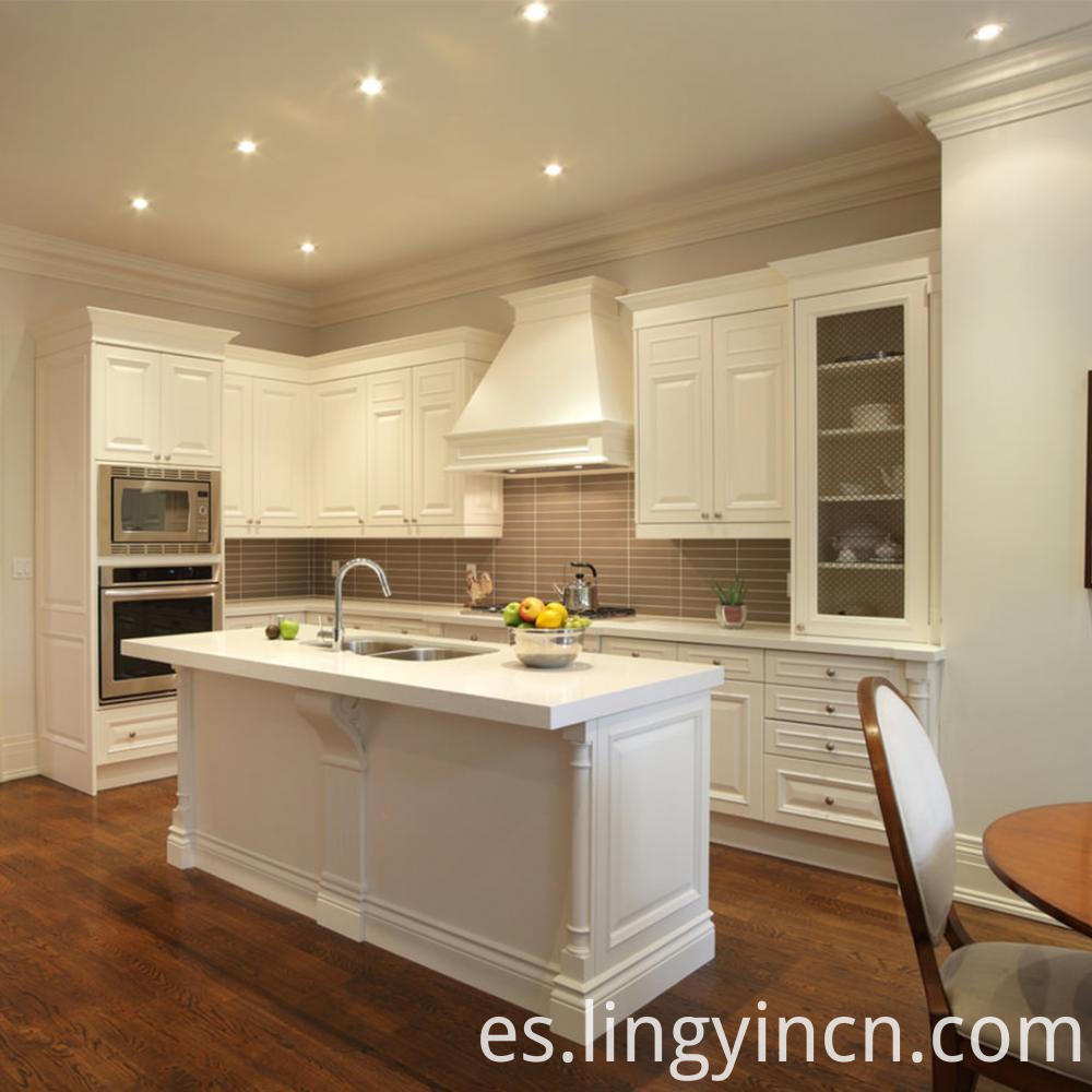 modern white gloss kitchen cabinet factory sale 3
