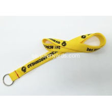 Custom Polyester Silk Screen Lanyards För Club