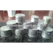 prensa de enladrillar del aluminio