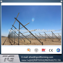 41*41&41*21 solar photovoltaic bracket roll forming production line made in Hebei