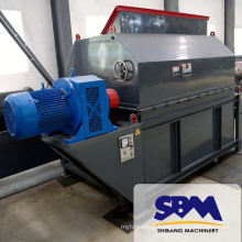 dry magnetic drum separator for Gold mine