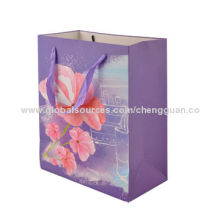 Glitter-coated Paper Gift Bags for Advertising, Sales Promotion