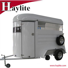 Single horse trailers China used horse box trailer factory price