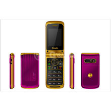 Small Unlocked Flip Model Mobile Phones , 8g 950mah Mobile Flip Phone