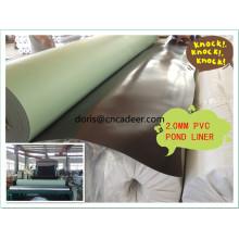Geomembrana de PVC de 1 mm para tanques de armazenamento