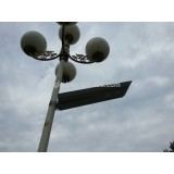 conventional solar led street lights 25w all in one solar lights