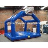 2017 hot sale inflatable shark bounce house