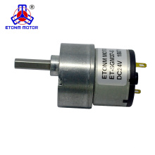 Geringer rauscharmer 37mm Getriebemotor 24V DC Encoder