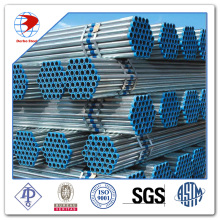 A106 Galvanized steel pipe with one Coupling