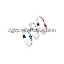 Stainless Steel Diamond Finger Ring