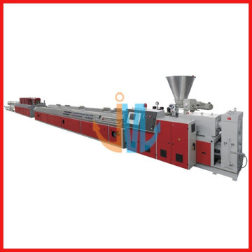 PVC, PE, PP WOOD PLASTIC PROFILED PRODUCTION LINE