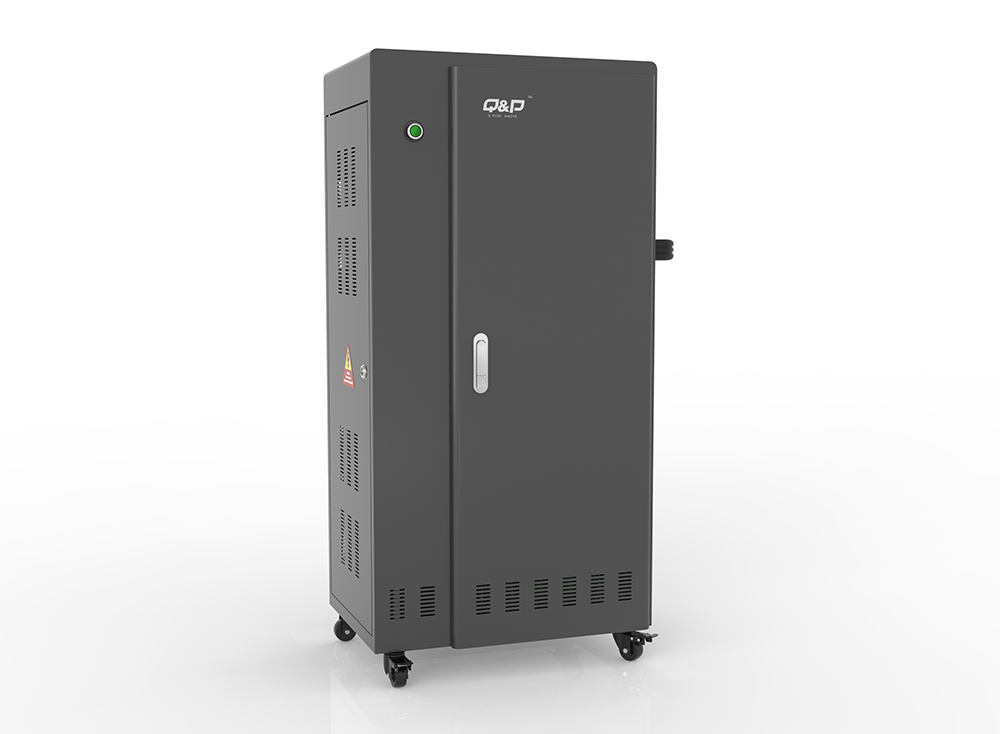 Smart android tablets charging cabinets with locker