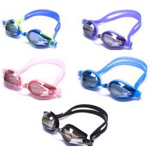 2015 neueste PC Linsen Anti-Fog-Silizium-Schwimmen-Brille