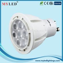 Haute qualité GU10 3.5w / 5w / 7w / 8w / 12w Spot LED Lights CE RoHS approuvé