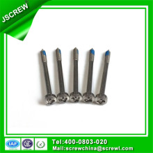 8# Long Length Nylok Self Tapping Stainless Steel Screw for Equirment