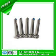 Tornillo autoperforante de seguridad de acero inoxidable