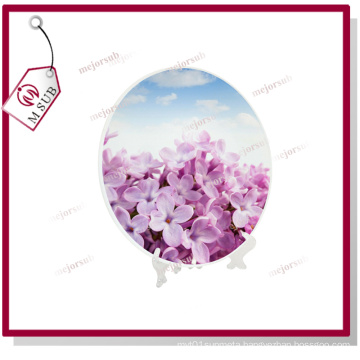 10′′ Round Blank Sublimation Glass Plates
