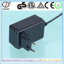 Portable power adapter 5v 2 5a with UK EU AU US plug